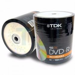 DVD VIRGEN TDK -R 8X BULK X...