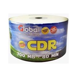 CD VIRGEN GLOBAL 52X PACK X50